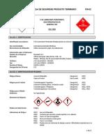 FICHA SEGURIDAD MSDS 5-56 Lubricante Penetrante Aerosol CRC SGA