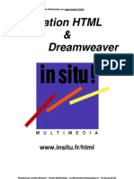 HTML & Dream Weaver