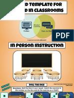hybrid teaching template