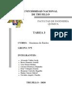 TAREA N°03- MECÁNICA DE FLUIDOS