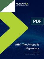 3. Acropolis Hyperviser AHV