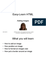 Easy-Learn HTML Adding Images