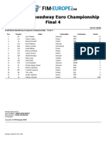 2020 Individual Speedway Euro Championship Final 4