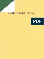 Amorc Folder 1935-1936 (revised)