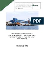 MEMORIA DESCRIPTIVA DE ISNTALACION  DE LINEA DE VIDA PG-ESCALERAS TISUR ...