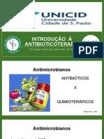 AAntibioticoterapia / generalidades