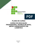 Plano do Curso Técnico em Logística - Subsequente (1)