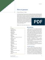 Fièvre et grossesse EMC 2020