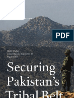 Securing Pakistan's Tribal Belt