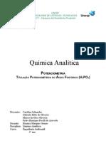 Relatório de Química Analítica: Potenciometria