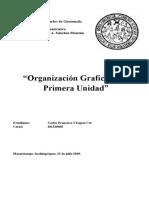 Organizacion grafica Unidad I  concluido