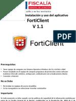 FORTICLIENT V 1.1 Guia de descarga, instalacion y uso.pdf