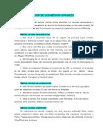 CLASIFICACIÓN DE LOS MEDIOS SOCIALES.docx