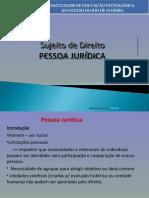 Aula 05 - Dto Civil - Pessoa Jurídica