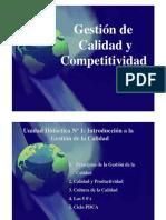 Diapos Gestión de la Calidad y la Competitividad