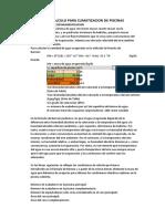 CALCULO PARA CLIMATIZACION DE PISCINAS