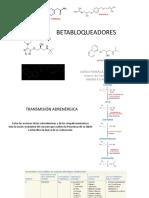 Antihipertensivos- betabloqueantes (1)