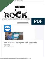 THE BEATLES - All Together Now [traducida al español] - El Traductor de Rock.pdf