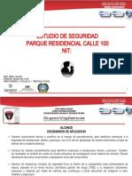 ESTUDIO DE SEGURIDAD PARQUE RESIDENCIAL CALLE 100