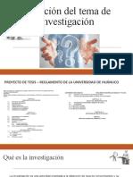 1. METODOLOGÍA - Elección del tema de investigación.pptx