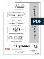 Manual for Frymaster Fryer Controllers 8195916