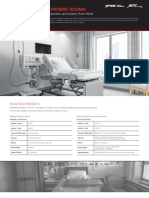 Pandemic Ready Patient Room Solutions