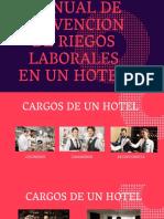 MANUAL DE PREVENCION DE RIEGOS LABORALES EN UN HOTEL