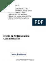 5. TEORIA DE SISTEMAS - renzo