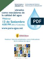 Macroinvertebradoscomoindicadores de la calidad de agua