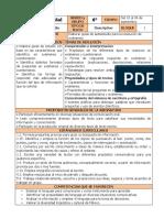 Septiembre - 6to Grado Español (2019-2020)