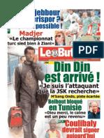 LE BUTEUR PDF du 18/01/2011