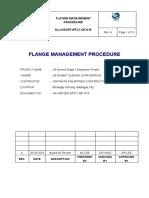 A4-JGS1EP-EPC1-QP-016 REV. A (FLANGE MANAGEMENT PROCEDURE) - Copy