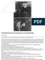The Hubbard Energy Transformer by Gaston Bur Ridge