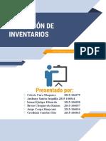 REPOSICION DE INVENTARIOS