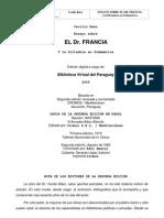 Ensayo Sobre El Dr. Francia - Cecilio Baez - Portal Guarani