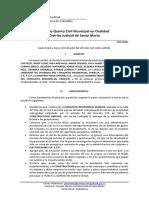 Fallo de tutela Rad. 241-2020