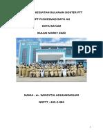Laporan PTTmaret 2020
