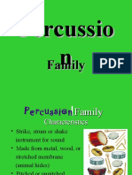 Powerpoint Percussion Family M. Sziksai