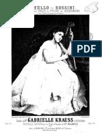 Otello, Romanza e Preghiera. Rossini