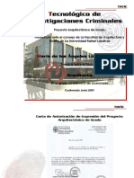 Tecnológico de Investigaciones Criminales - María de los Angeles López Arévalo