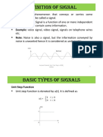 Signals And Systems Module 1
