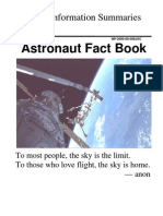 Astronaut Fact Book Sept 2000
