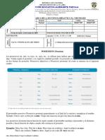 SECUENCIA DIDACTICA DE INGLES No.3  11-04, 11_05 Y 11_06 2 MATINAL