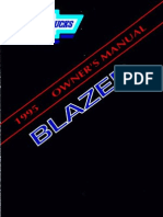 1995 Chevrolet Blazer Owners