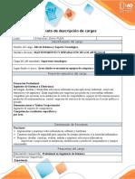 Anexo 2. Formato - descripción de cargos_FARMACIA