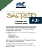 Guida degli eroi di Sacred