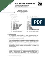 PSICOPATOLOGÍA FORENSE I  PROGRAMA 2019