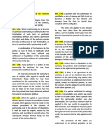 Obligations of partners (PARTNERSHIP)