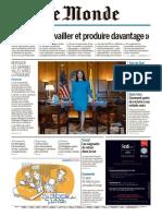 Journal LE MONDE du Mardi 16 Juin 2020
