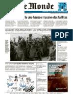 Journal LE MONDE du Mercredi 17 Juin 2020